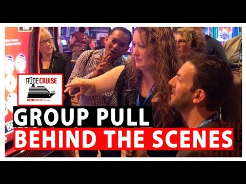 👫 Group Slot Pull 🎥 BEHIND THE SCENES 💃🛢 DANCING DRUMS ✦ Slot Machine Pokies w Brian Christopher