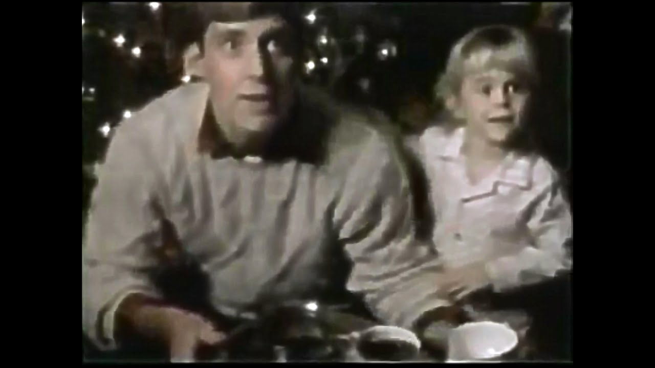 Folgers Coffee 1986 Christmas TV Commercial HD - YouTube