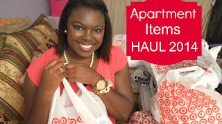 Apartment Items Haul! | 2014 Thumbnail