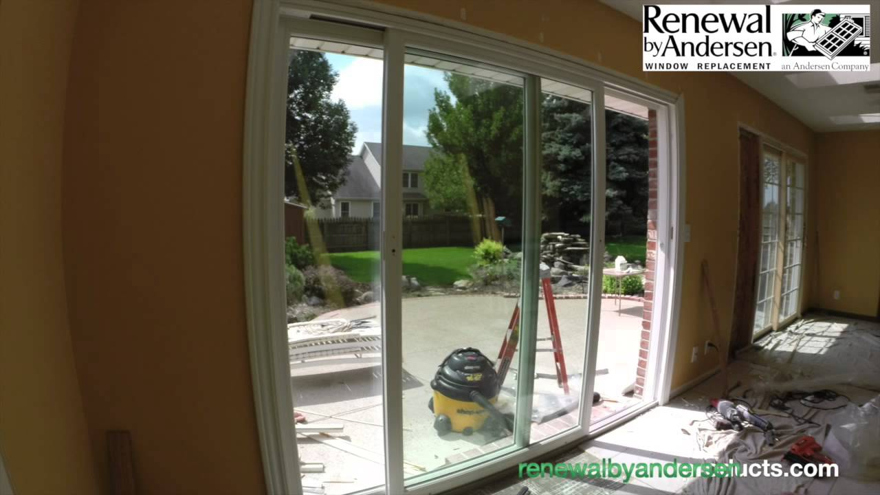 Patio Door Installation Morton Il Renewal By Andersen Youtube