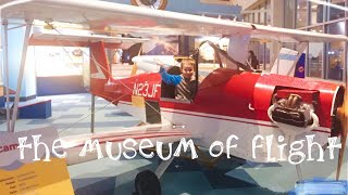 Place to visit while in Seattle - The Museum of Flight