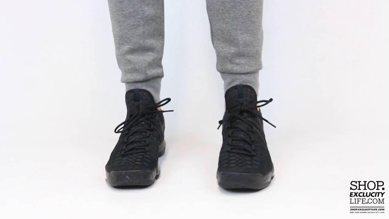 b02dd216cf43 KD 9 Triple Black On feet Video at Exclucity - YouTube