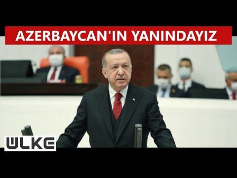 Cumhurbaşkanı Erdoğan, TBMM yasama yılı açılışında konuştu: ''Ermenistan haydut bir devlettir''