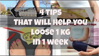 Loose Weight - 1KG per Week | The Real & Healthy Way | Indian Food, Exercise & Diet