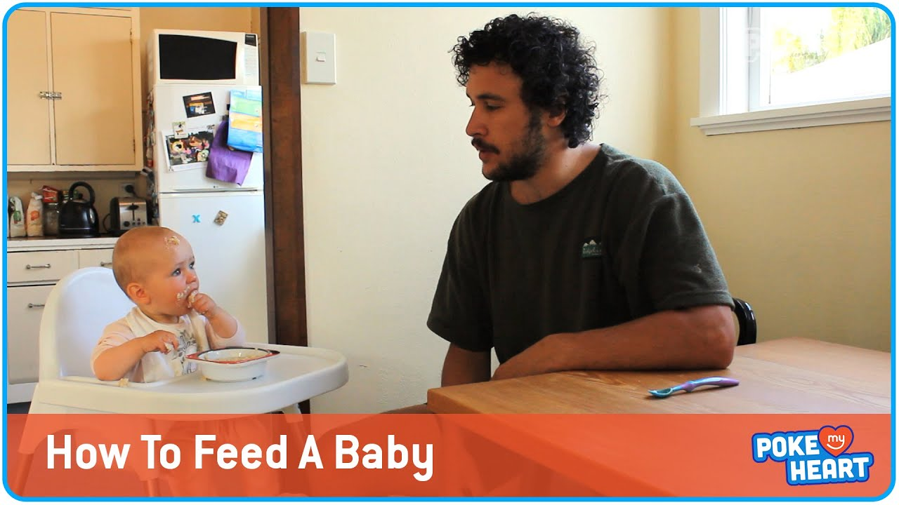 How To Feed A Baby - Cute Version