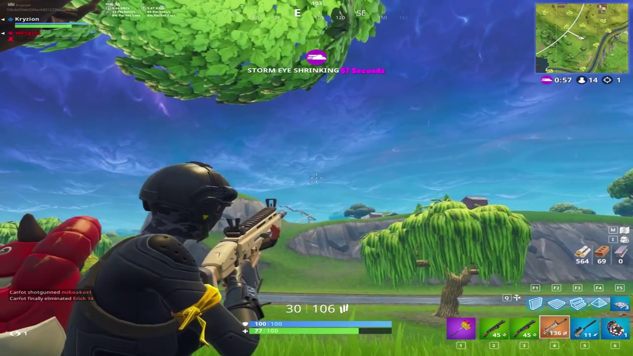 some nasty hits with new resolution 4:3 1440x1080 fortnite