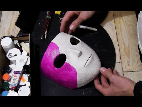 Как сделать маску салли фейс