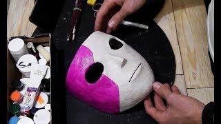 Как сделать маску-протез САЛЛИ КРОМСАЛЛИ из бумаги\САЛЛИ-ФЕЙС (1 часть)