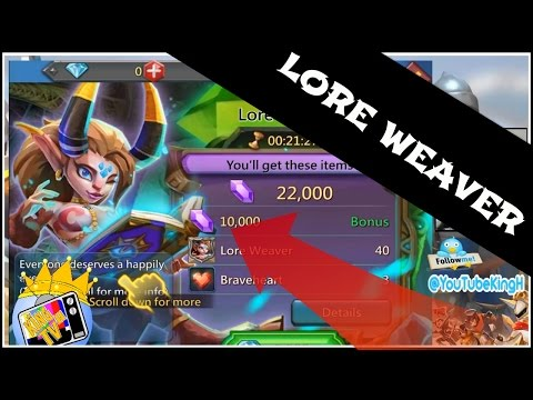 Lords Mobile: Lore Weaver MAXED OUT Review