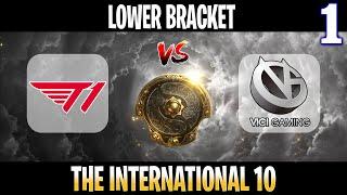 T1 vs Vici Gaming Game 1 | Bo3 | Lower Bracket The International 10 2021 TI10 | DOTA 2 LIVE