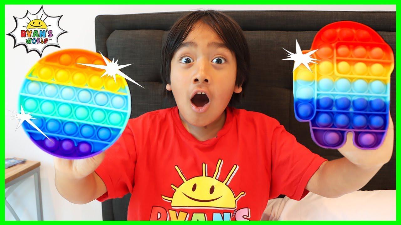 Download Ryan's POP IT fidget toys Collection!