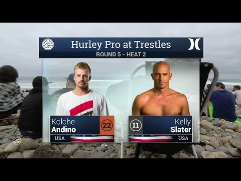 Hurley Pro at Trestles: Round Five, Heat 2
