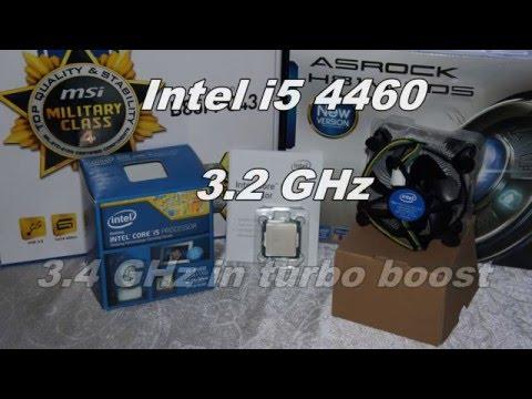 Intel i5 4460 Turbo Boost