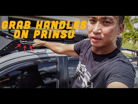 Grab Handles For Your Tacoma Prinsu Roof Rack Youtube