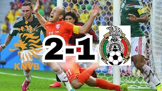 Netherlands vs Mexico FIFA World Cup 2014 Brazil • Highlights • All Goals