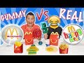 Candy Food vs Real Food McDonald's Switch Up