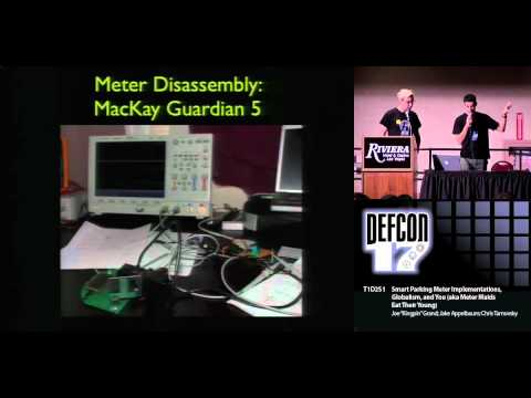 "DEFCON 17: ""Smart"" Parking Meter Implementations, Globalism, and You"