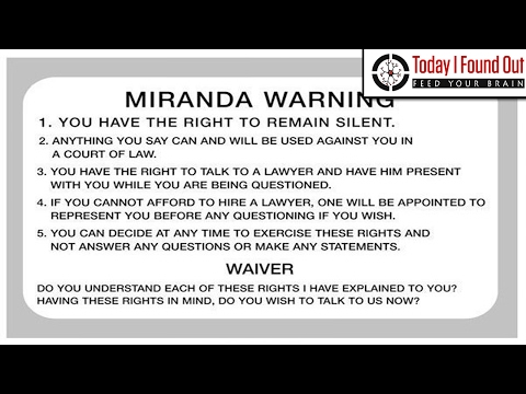 Who was Miranda of the Miranda Warning?