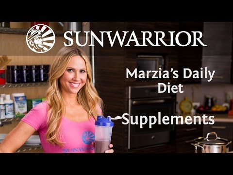 Marzia Prince's Daily Diet: Supplements| Part 4/4