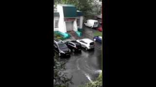ЛИВЕНЬ В ГОМЕЛЕ 14.06.2015