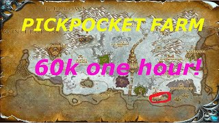 WoW 6.2.2: 60k Gold In 1 Hour!(Decahedral Dwarven Dice)Pickpocket gold farming,Gold Farming Guide