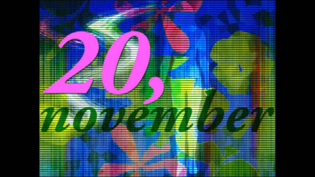 20.November
