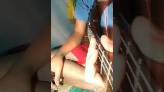 Guitar cover dangdut DERITA DI BALIK TAWA