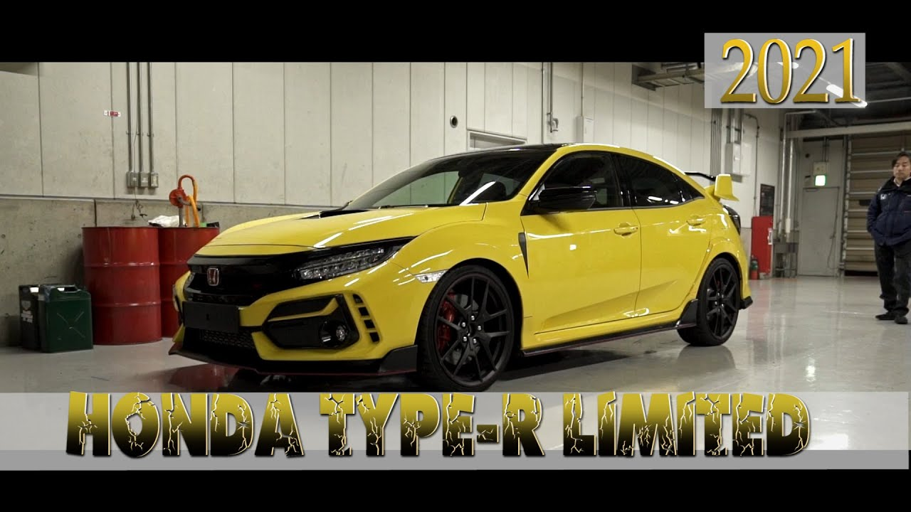 2021 honda civic type r limited edition new lap record on