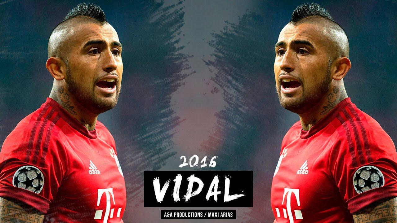 Arturo Vidal Skills and Goals Bayern Munich 2016