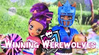 Unbox Daily: Monster High Winning Werewolves Clawdeen & Clawd Wolf - Doll Review - 4K