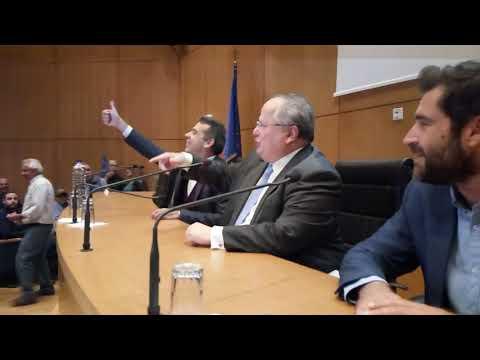 Ο Ν. Κοτζιάς από το Ηράκλειο: Οι απειλές ζωής δεν είναι δημοκρατία ...