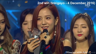Video BLACKPINK (블랙핑크) Whistle + Playing With Fire (5 SHOW WINS COMPILATION + MELON MUSiC AWARDS 2016) download MP3, 3GP, MP4, WEBM, AVI, FLV Desember 2017