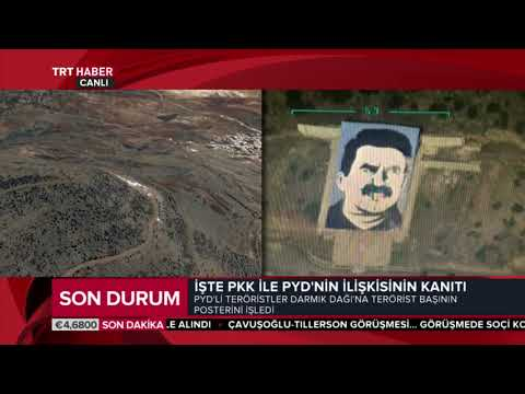 Terörist başının posterini SİHA'lar işaretledi, F-16'lar imha etti.