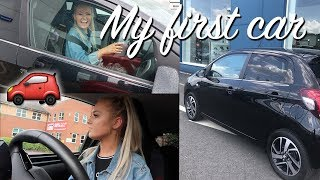 BUYING MY FIRST CAR AND DRIVING ALONE FOR THE FIRST TIME!