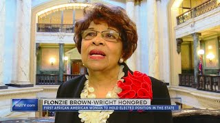Flonzie Brownwright honored