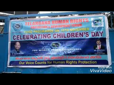 Telangan Human Rights Protection n Development Forum With World Peace Committe.