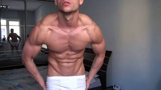 ionut emilian moldovan Carb Loading 16.Feb.2014 , 70 kg natural fitness bodybuilding