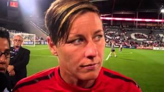 Abby Wambach U.S. Women's National Team on Pia Sundhage in Colorado