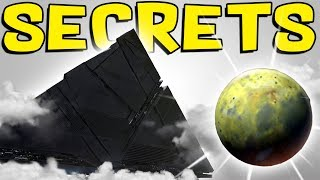 Destiny 2 - darkness ships found above io! hidden exotic quest, cutscene secrets, & future dlc