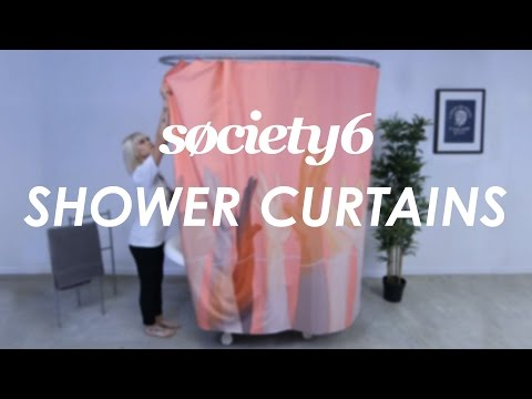 Shower Curtains from Society6 - Product Video