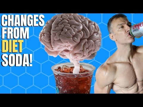 Diet Soda Impacts Brain, Gut, Adherence!