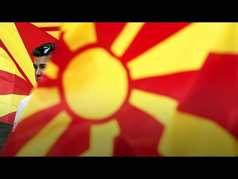 Macedonia caught between East and West