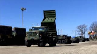 M929 5-Ton 6x6 Military Dump Truck Oshkosh Equipment