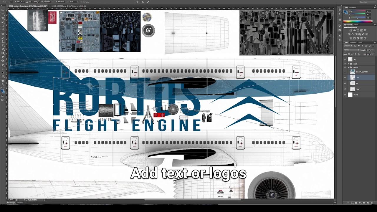 Real Flight Simulator Liveries Tutorial