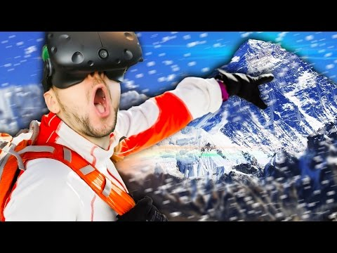 CLIMB EVEREST IN VIRTUAL REALITY | Everest VR (HTC Vive Virt