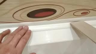 Установка уголка между ванной и плиткой. Как устранил зазор между ванной и плиткой