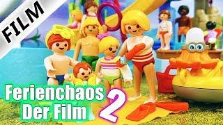 Playmobil Film Deutsch FERIENCHAOS 2 - Der Film! ÄRGER MIT JULIAN, HANNAH + EMMA - Familie Vogel