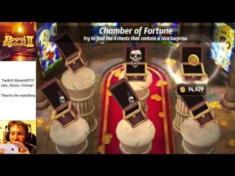 Royal Revolt 2 Gold Farming With King Jason W 4200 Trophies