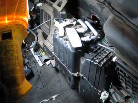98 Ram 1500 Heater Core Replacement 5 9 Youtube