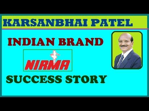 biography karsanbhai patel nirma